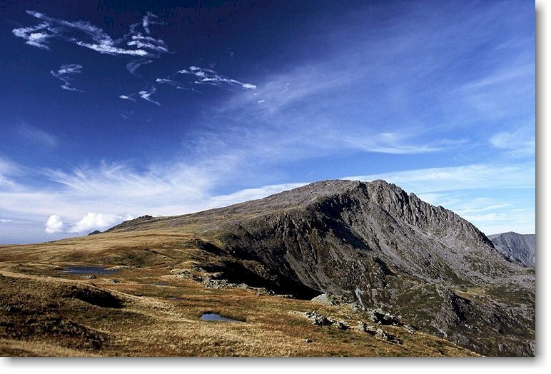 Bristly Ridge In Snowdonia